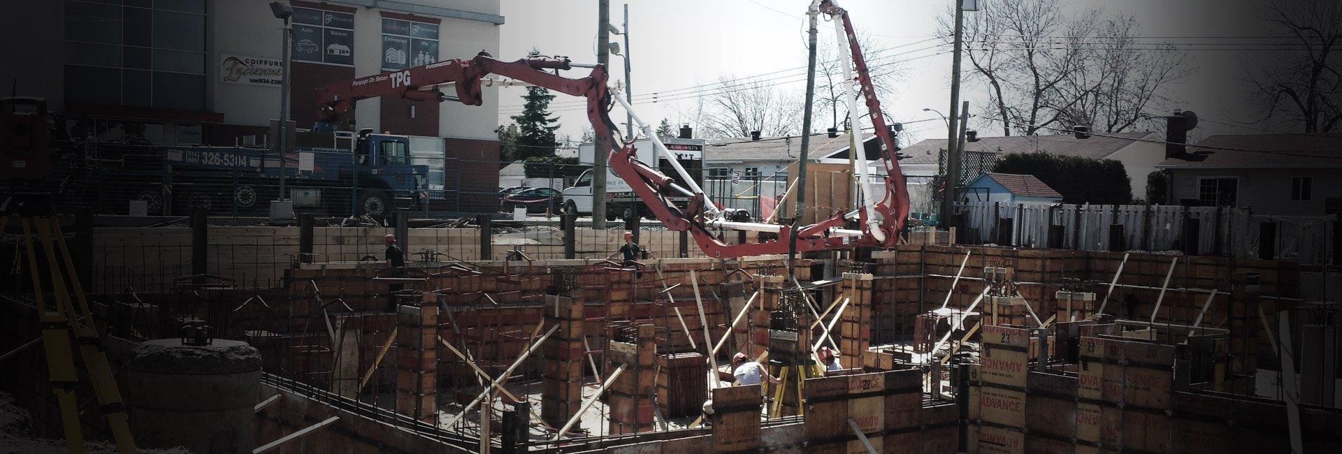 TPG Concrete Pumping documentation