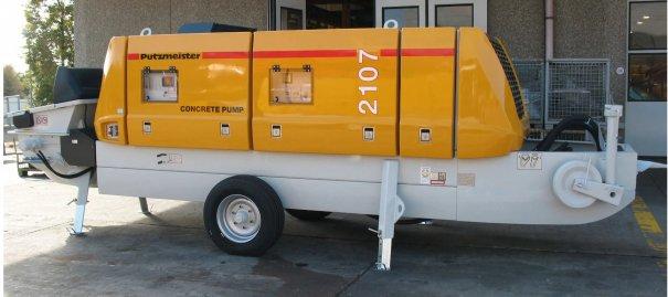 Pompe Électrique Putzmeister BSA2107E